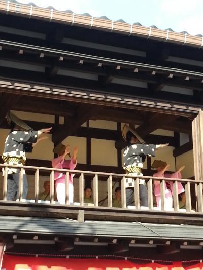 夏の終りの北陸ふたり旅(1)金沢~富山~越中八尾「おわら風の盆」を訪ねる