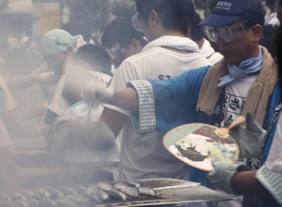 目黒のさんま祭り2013