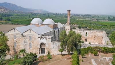 2013.8トルコの友人の実家を訪ねて9-聖ヨハネ教会,Isabey Camii,アルテミス神殿跡