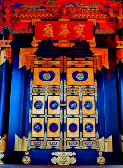 松島-3 瑞巌寺c 陽徳院御霊屋(寶華殿)を訪ねて ☆豪華絢爛な姿に復元