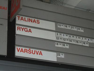 バルト三国とロシアの旅11日間 (6) リガまでのバス旅