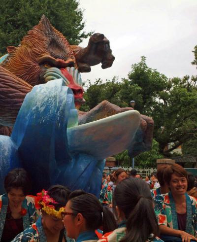 第66回 「眩暈するくらい」 東京藝術大学 芸祭−1 神輿出発
