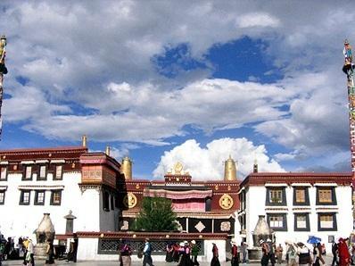 チベットの自然を会う
