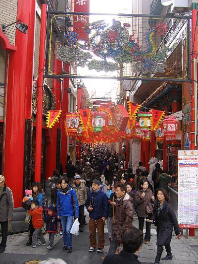 長崎の中国灯火祭り