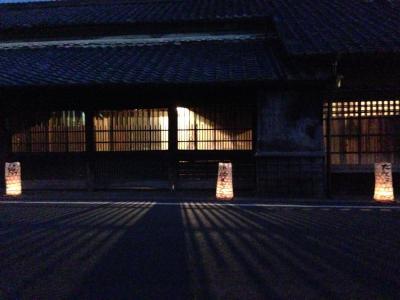 たんころりんの夕涼み  2013足助の夏