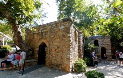 2013.8トルコの友人の実家を訪ねて11-シリンジェを出発,聖母マリアの家