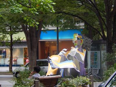 東京駅丸の内側~KITTE~丸の内仲通りを歩く