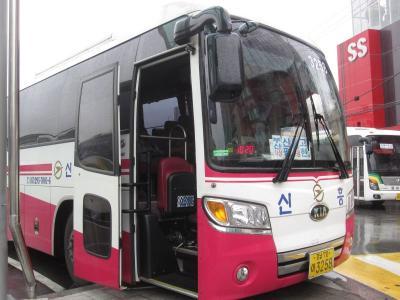 韓国南海岸バスの旅