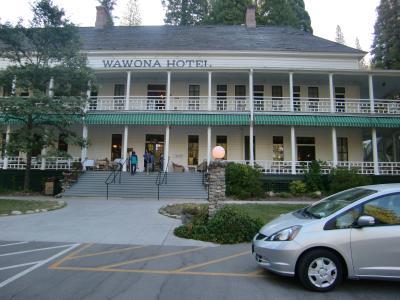 2013夏 カリフォルニア ドライブ04:ヨセミテ国立公園 ワウォナホテル