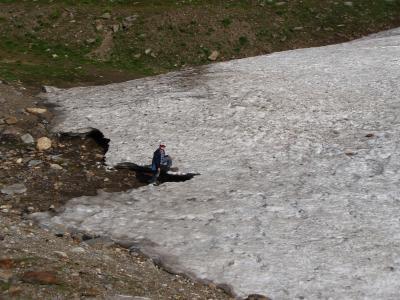 チロルの山歩き・家族旅行 (その4.ホーエ・ムートからロートモース氷河へ編)