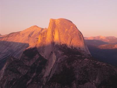 2013夏 カリフォルニア ドライブ05:ヨセミテ国立公園 グレーシャーポイント