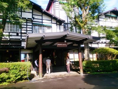 軽井沢でゴルフ 少しだけ旧軽を散策  前半 旧軽散策