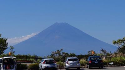 十国峠から富士山の撮影
