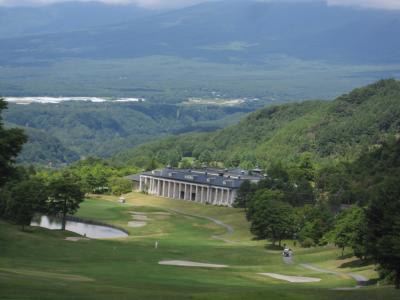 軽井沢でゴルフ 少しだけ旧軽を散策  後半 ゴルフ