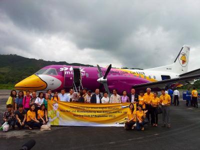 2013年9月/タイ/No.2 - ひとりぼっちの就航便