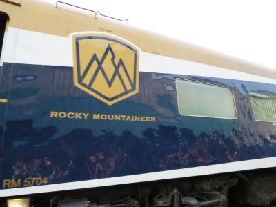 憧れの列車ウィスラーマウンテニアでウィスラーへ