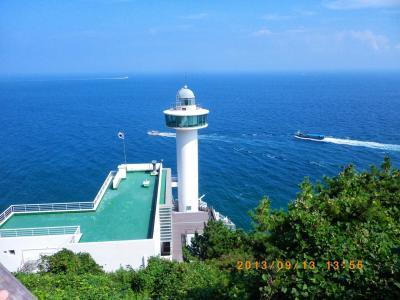 (釜山) 太宗台 (素晴らしい景色を晴天で見ることが出来ました。)