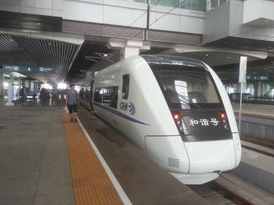 広珠城際鉄道(珠海~広州南間)鉄道乗車記