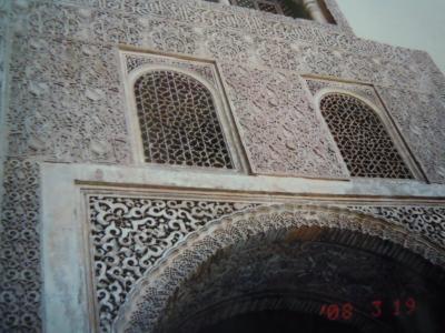スペインのイスラム文化に打ちのめされた
