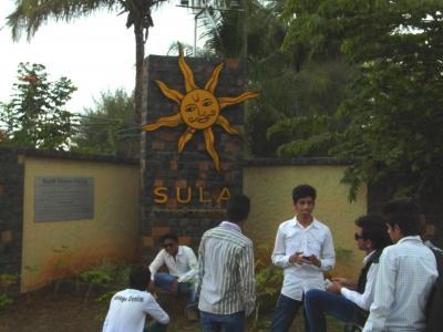 インド(Nashik)のワイナリー訪問