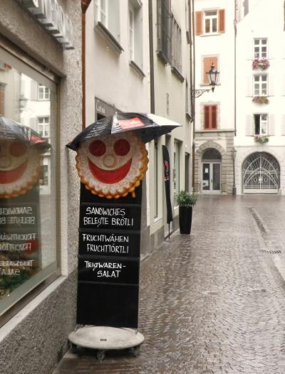 スイス温泉いらっしゃいませ~ ④雨のクールそぞろ歩き +おまけランドクァルト・アウトレットモール