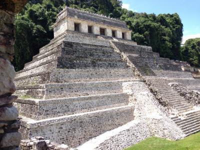中米六カ国縦断の旅9♪世界遺産パレンケ遺跡