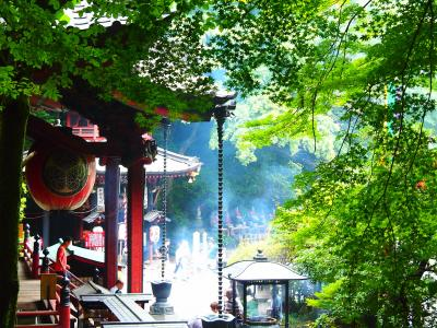 (思いがけず)秋近づく上州・伊香保を巡る旅【2】~上州の山懐に抱かれた五徳山水澤寺と榛名神社に詣でる~