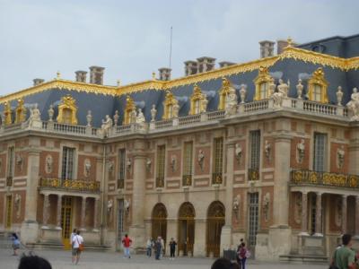 「パリ2日目ヴェルサイユ宮殿でお姫様気分」