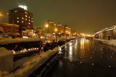小樽雪灯りの路&札幌雪まつり