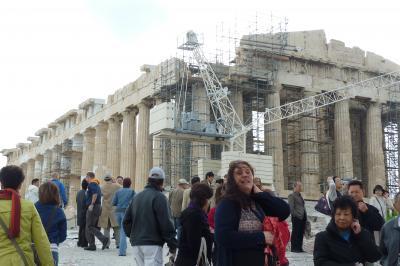 東・西地中海クルーズ(その2・アテネ&パルテノン神殿)