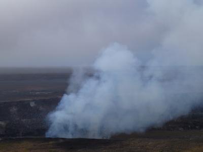 ハワイ火山国立公園の旅