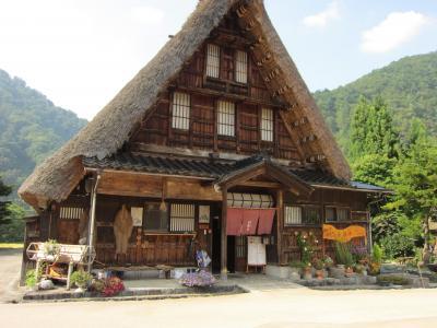2013年9月富山の友人を訪ねて五箇山