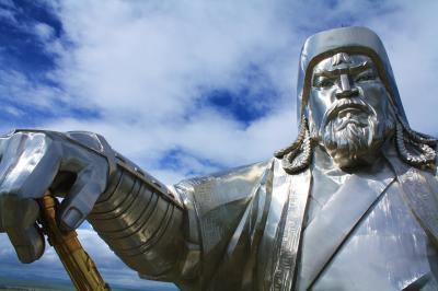 モンゴルの風(4) 大草原のチンギス・ハーン像