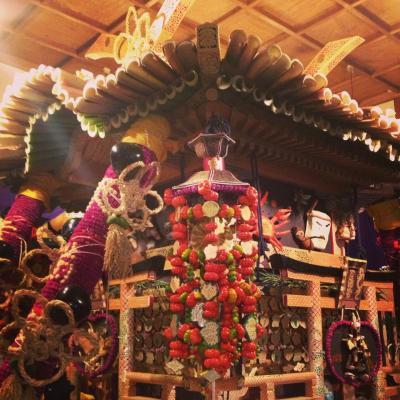 〈ずいき祭〉ローカル秋祭りをちょこっとご紹介