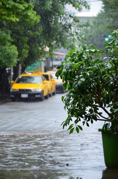 記憶に残る大雨 ・ 台南の旅 2013 - 1