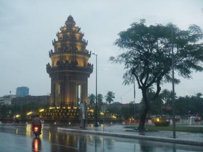 たびたびの旅 東南アジア50日間の旅(44)2013/10/03 プノンペンを歩く