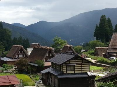 夏の終りの北陸ふたり旅(3)世界遺産 五箇山・白川郷をめぐる旅
