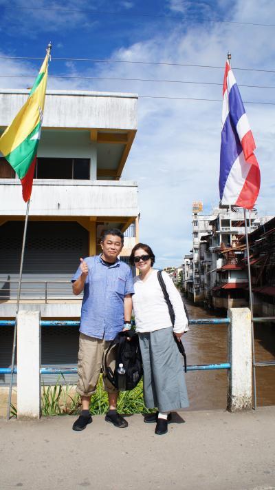 Sabaai! Northern Thailand(5)タイのメーサイからミャンマーのタチレイへ行って、タイの滞在期間が空路の半分になる。