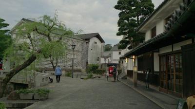 マイカーで、岡山県、倉敷。