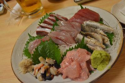 伊東温泉 湯の花通り 久しぶりの うめはらさんでの美味しい夕食 2013年9月
