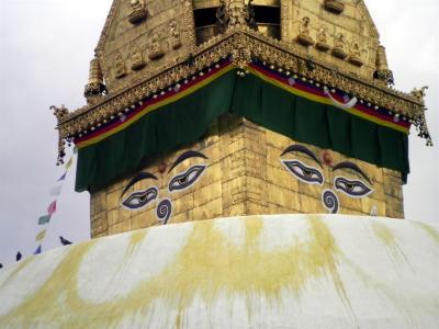 ネパール9: カトマンズ 「スワヤンブナート仏舎利塔」 巡礼