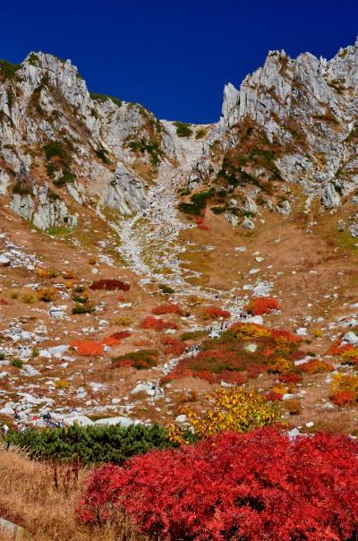 2013年紅葉名所巡り(2) 千畳敷カールの紅葉絶景と木曽駒ケ岳登山