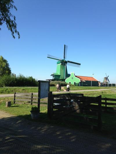 ザーンセ・スカンスでオランダ原風景を見る