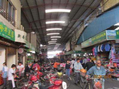 上海の閔行渡口・閔行新安市場