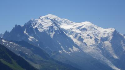 2013年スイス(18) 結構、遠目で見られていいかも ~ Col de Balme