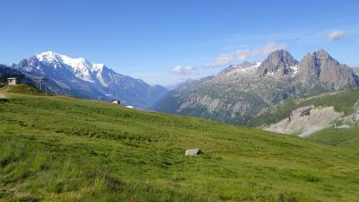 2013年スイス(20) シャモニー最終日、考えた末 ~ Balme一周