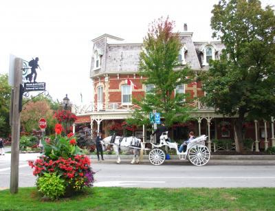 2013年 カナダ その2 ナイアガラ・オン・ザ・レイク 小さな街の散歩