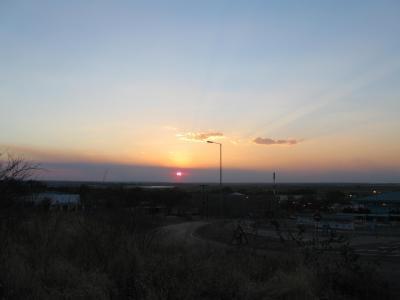 ザンビア国境からナミビア国境へ