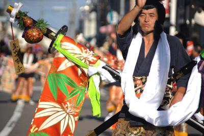 第107回島田大祭(帯まつり)2013.10.12 =4.大名行列①=