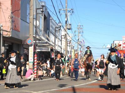 第107回島田大祭(帯まつり)2013.10.12 =5.大名行列②=